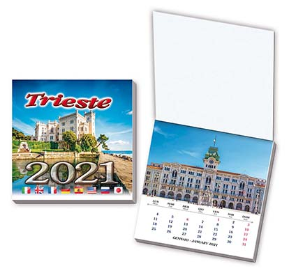 Calendario Piccolo 7,5×7,5